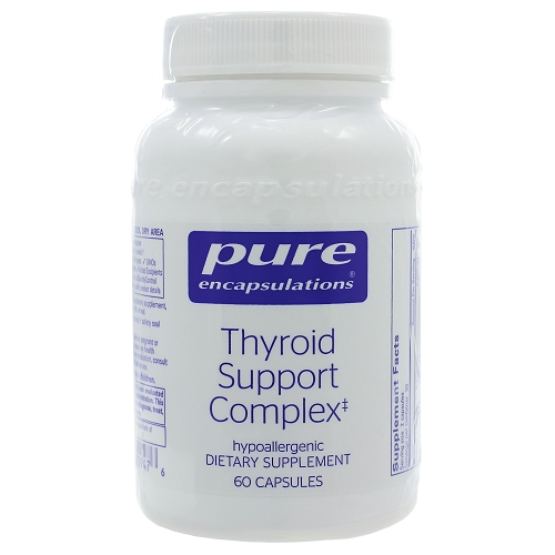 Replacement for Throid Support formula from Physiologics is Thyroid Support Complex from Pure Encapsulations
